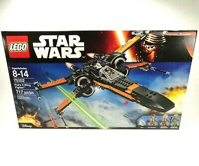 LEGO 75102 Poe's X-Wing Fighter Star Wars New Sealed
