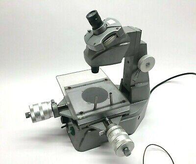 Mitutoyo 176-104 Type Bi-5 Toolmaker Measuring Microscope Machinist Scope