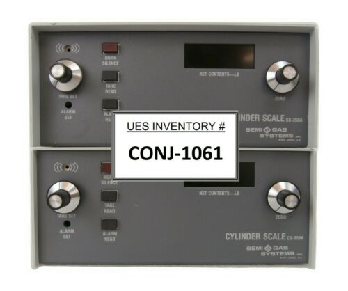 Semi-Gas Systems CS-350A Cylinder Scale Display Controller Lot of 2 Working