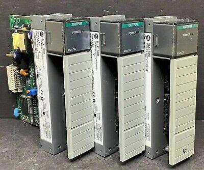 Allen Bradley 1746-no4i 1746-n041 Ser A Slc 500 Analog Output Module Current 4pt