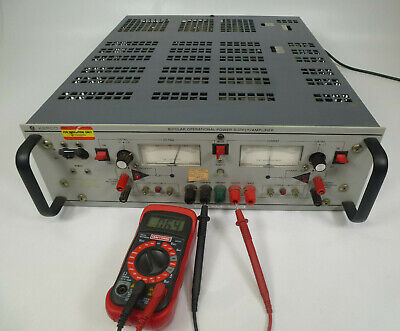 Kepco Bop20-20m Bipolar Operational Power Supply Amplifier Partially Tested