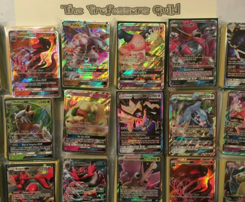 Pokemon 100 Official Authentic Card Lot Guaranteed Gx! No Duplicates! Ultra Rare