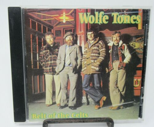 WOLFE TONES: BELT OF THE CELTS MUSIC CD, 14 GREAT TRACKS, SHANACHIE, GUC