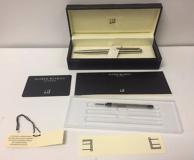 ALFRED DUNHILL AD2000 SILVER PLATED BALLPOINT PEN