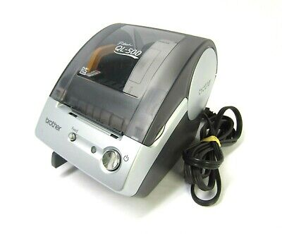 Brother P-touch Ql-500 Label Printer Includes Power Cord Good Working Cond.