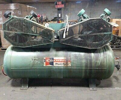 Champion Horizontal Air Compressor 250 Gal 208-230460v 200psi 7.5hp Can Ship