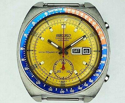 Vintage Seiko Pogue 6139 6002 chronograph