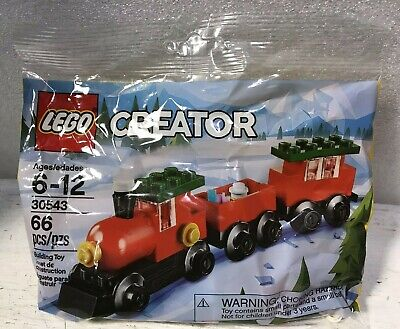 Lego 30543 Creator Holiday Christmas Train Building Toy 66 pieces - NEW