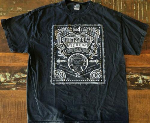 2006 Family Values Concert Tour Shirt KORN Metal Industry By Giant Shirt Sz XL