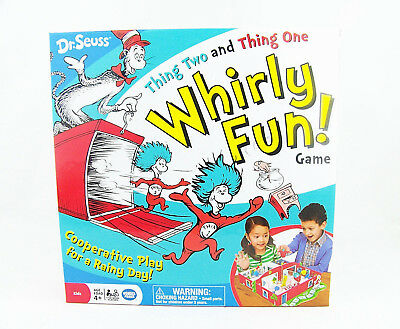 Dr. Seuss Thing Two And Thing One Whirly Fun Game Spinning Top Launcher](Thing One And Two)
