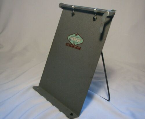 Vintage Mid-Century Curtis-Young Metal Stand By Document Copyholder Made in USA