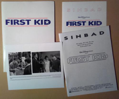 Press kit~ FIRST KID ~1996 ~Sinbad ~Brock Pierce ~Fawn Reed ~David Mickey Evans