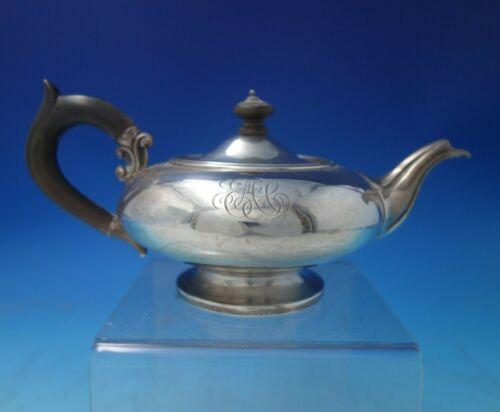 "Danish .934 Silver Tea Pot Individual w/Wood Handle and Finial 4"" x 8 1/4"" #5511"