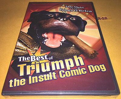 BEST of TRIUMPH the INSULT comic dog DVD conan o'brien STAR WARS LINE bon jovi