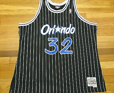 MITCHELL & NESS NBA HWC ORLANDO MAGIC SHAQUILLE O'NEAL SWINGMAN JERSEY SIZE 3XL