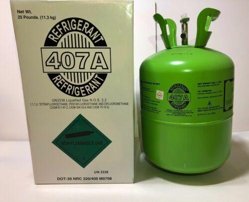 R407A R-407A Refrigerant 25 lb sealed USA