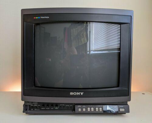 "LOOK!!! SONY TRINITRON KV-1370R Color 13"" CRT RETRO GAMING TV"