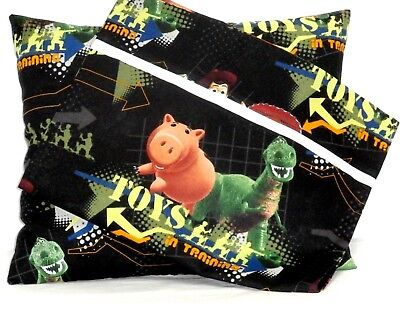 Baby Buzz Lightyear (Buzz Light year Toddler Pillow and Pillowcase Black Cotton #BL11 New Handmade)