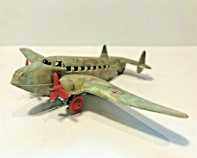 ✈️ Vintage RARE 1950s PALITOY LOCKHEED ALLIED BOMBER Aircraft Model Multicolour