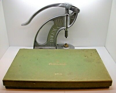 Vintage Genuine Rolex Crystal/ Bezel PresRef. 1002 Rolex Tool Watch Repair Tool