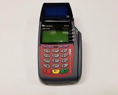Verifone Vx510 Omni 3730 Pos Credit Card Reader Printer Terminal Tested