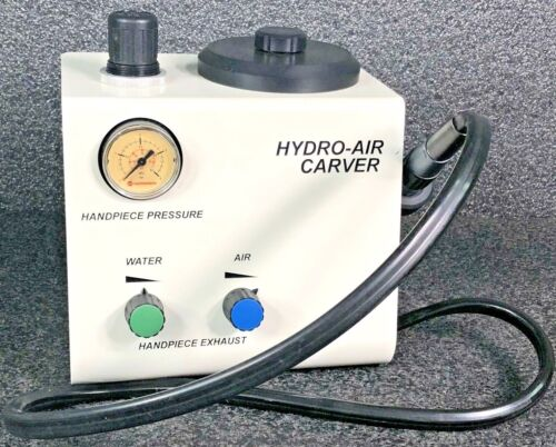 Hydro-Air Carver Dental Lab Air Water Handpiece Console HydroCarver