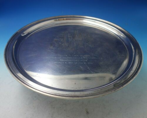 Hamilton by Tiffany and Co Sterling Silver Serving Tray w/ Presentation (#5635)