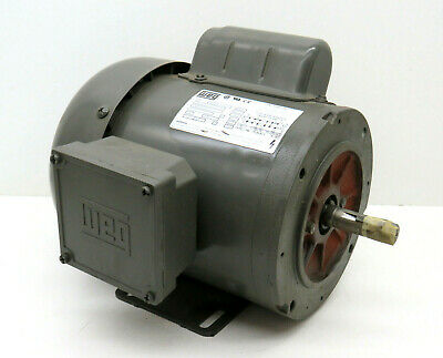 Weg 10680342 General Purpose Motor 7536es1bb56c 115208-230v 34hp 3490rpm