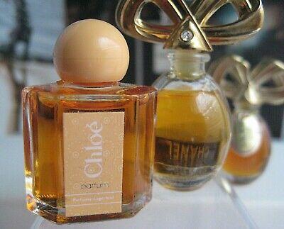 🎁2 **PARFUM perfume New vintage Chloe mini Karl Lagerfeld White Diamonds