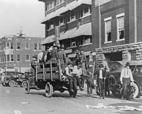 1921-Tulsa Race Riots-Called Single Worst Racial Incident in American History