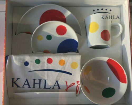 KAHLA Kids - 5 Piece Porcelain Dining Set - Mug / Bowl / 2 Plates / Apron