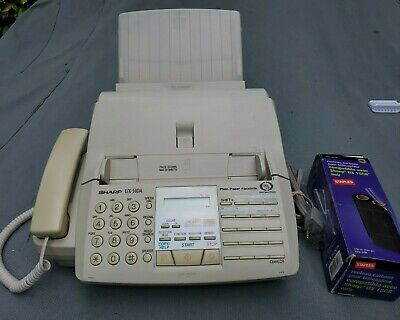 Sharpux-510a Fax Machineplain Paper Facsimile 100w 60hz With Accessory