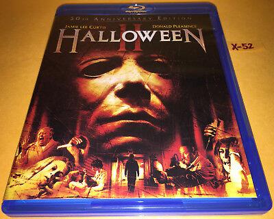HALLOWEEN II 1981 blu-ray 30th ANNIVERSARY john CARPENTER jamie lee CURTIS H 2 (Halloween Ii Carpenter)