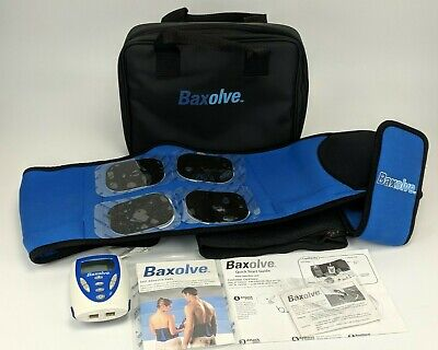 Baxolve No. 294 Lumbar Support & TENS Belt - back pain relief electrodes