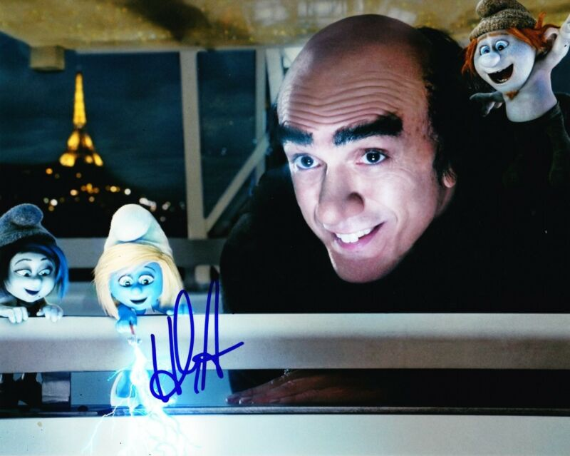 HANK AZARIA SIGNED 8X10 PHOTO AUTHENTIC AUTOGRAPH THE SIMPSONS THE SMURFS COA A