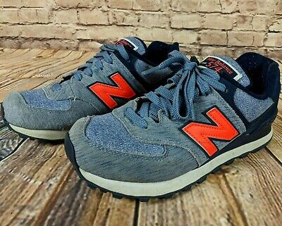 New Balance 574 Blue Wave and Denim Size 7.5 Women's - Fast Secure Shipping
