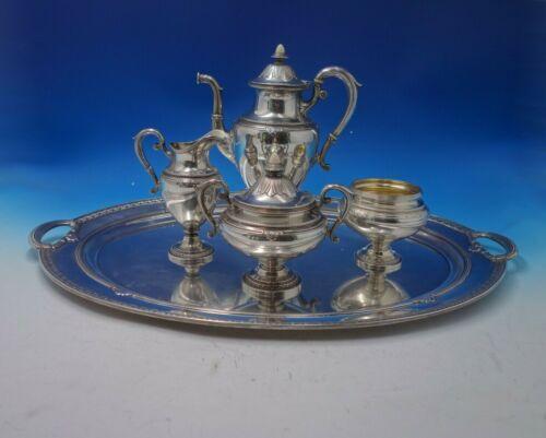 Shamrock V by Gorham Sterling Silver Coffee Set 5pc (#5093)
