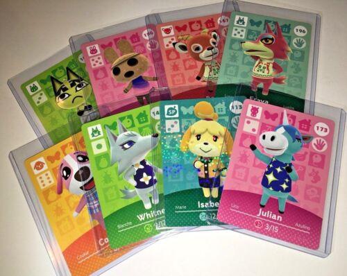 Animal Crossing Amiibo Cards Series 2 NA US You Choose & Pick Nintendo