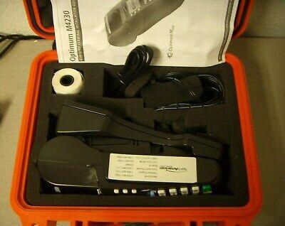 Hypercom Optimum M4230 Card Reader Terminal Pos Complete W Pelican Case