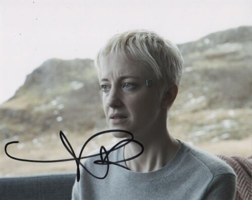 Andrea Riseborough Black Mirror Autographed Signed 8x10 Photo COA #J2
