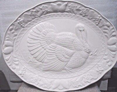 Vintage  Large Turkey Platter 17.75