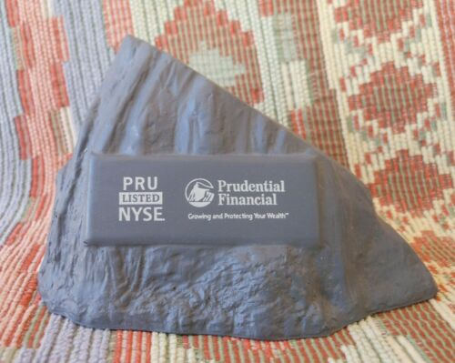 Vintage Prudential Insurance Piece of the Rock Stress Ball Pru Financial Service