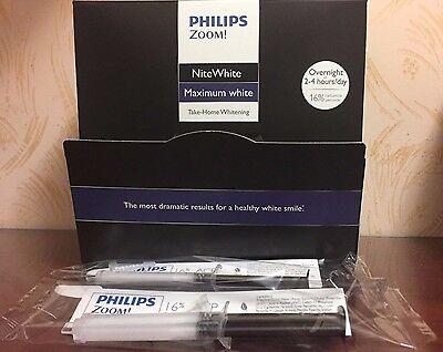 Philips Zoom  16  Nitewhite Maximum White  2 Syringes