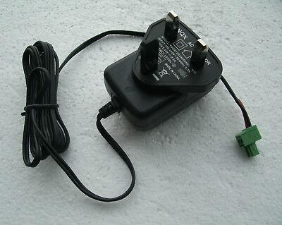 GENUINE YNQX YNQX12G240050BL 1611 AC POWER SUPPLY ADAPTER 24V 0.5A UK PLUG