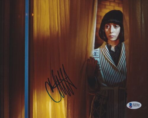 CRISTIN MILIOTI SIGNED 8X10 PHOTO HOW I MET YOUR MOTHER BECKETT BAS AUTOGRAPH F