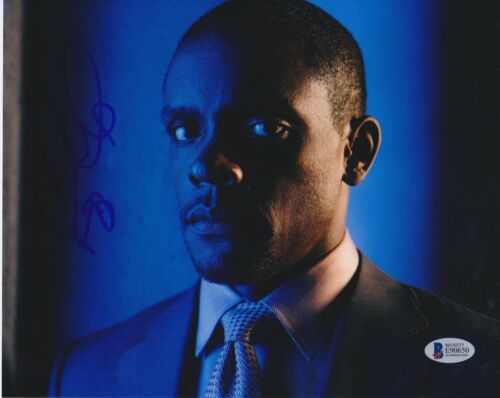 CHRIS CHALK SIGNED 8X10 PHOTO GOTHAM BECKETT BAS AUTOGRAPH AUTO COA B
