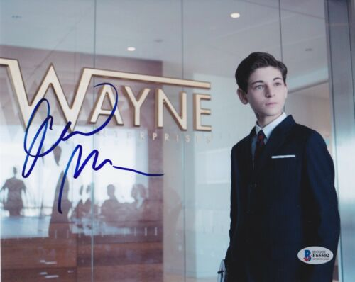 DAVID MAZOUZ SIGNED 8X10 PHOTO GOTHAM BECKETT BAS AUTOGRAPH AUTO COA A