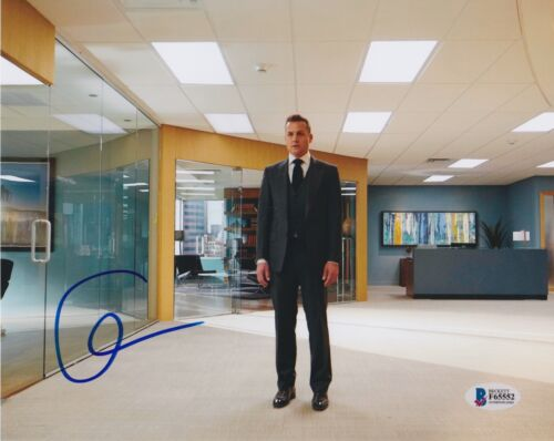 GABRIEL MACHT SIGNED 8X10 PHOTO SUITS BECKETT BAS AUTOGRAPH AUTO COA B