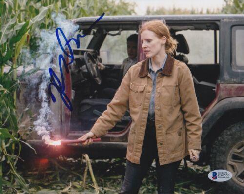 JESSICA CHASTAIN SIGNED 8X10 PHOTO MISS JULIE BECKETT BAS AUTOGRAPH AUTO COA J