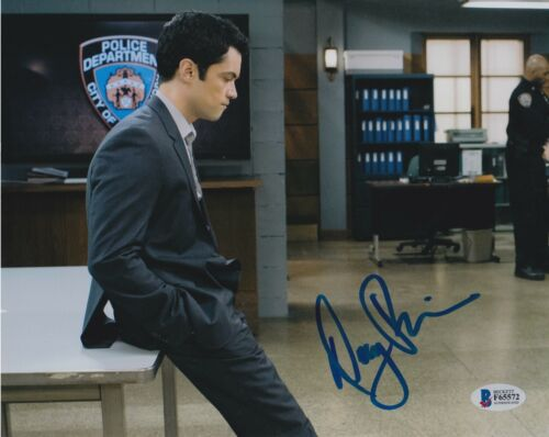 DANNY PINO SIGNED 8X10 PHOTO LAW ORDER SVU BECKETT BAS AUTOGRAPH AUTO COA F